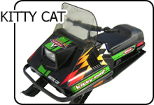 Arctic Cat Kitty Cat parts diagrams and common   parts
