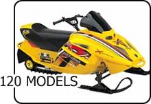Ski-doo 120 Mini Z parts diagrams and common parts