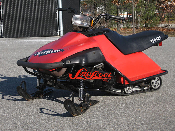 Yamaha sno sport sno snow sport track replacement kit uses for Yamaha sno scoot