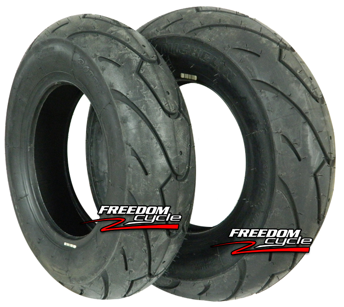 MICHELIN Bopper Scooter Bias Tire-130//90-10 61L