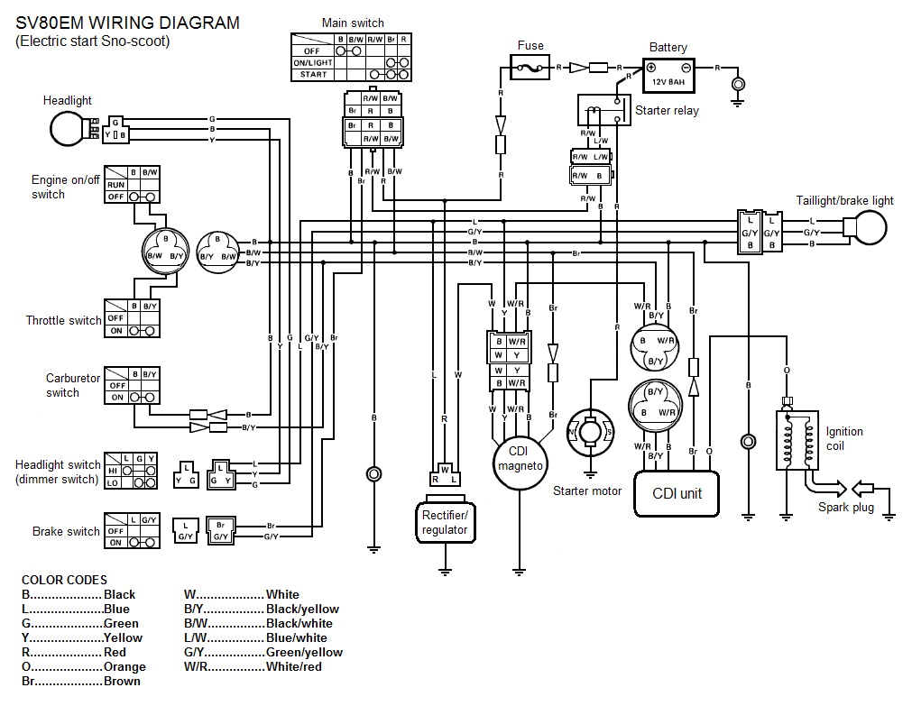 Central Battery System Wiring Diagram additionally 5 4 Triton Engine Diagram also Scootelectricaldiagrams additionally 2015 Charger Wiring Diagram as well Wheelchair Wiring Diagram. on electric razor scooter wiring diagram